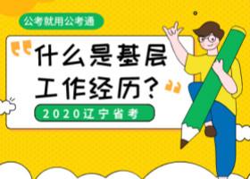 2020年辽宁公务员考试基层工作经历如何限定?