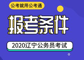 2020年辽宁公务员考试报考条件